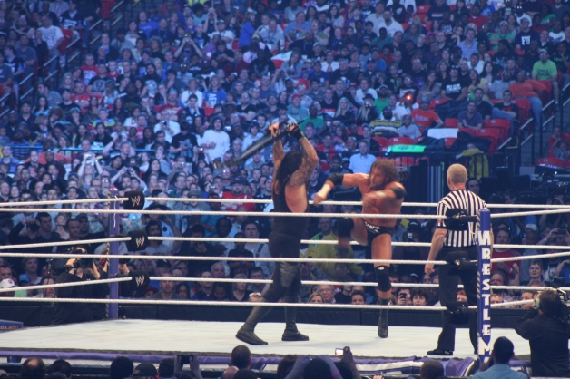 Taker vs The Game, Georgia Dome